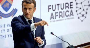 Emmanuel Macron menace