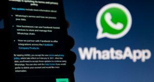 Nouvelles conditions d'utilisation de WhatsApp en Europe
