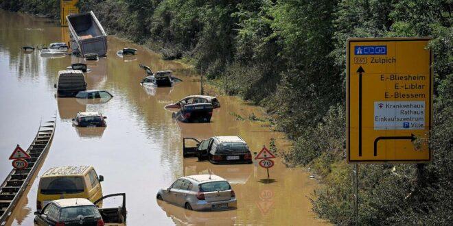 Inondations : la situation se dégrade dans le sud de l'Allemagne